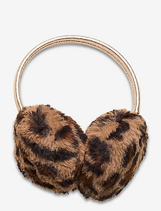 Earmuffs  fur leo - vêtements d'hiver - brown