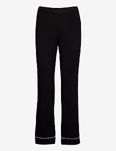 Night Trousers Black jersey Ec - broeken - black