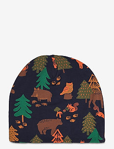 Cap tricot playful forest - casquettes - blue
