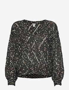Sweater Ture - blouses med lange mouwen - black