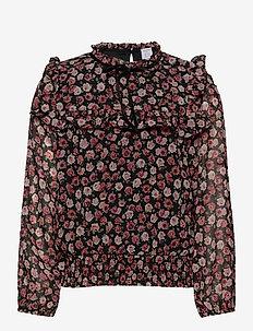 Blouse Alexandra - bluzki i tuniki - black