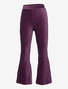Trousers Mandy flare cord - trousers - lilac