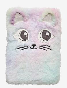 Notebook rainbow fur cat - dywany i maty - pink
