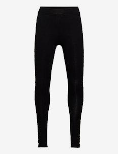 Leggings leo side tape - spodnie - black