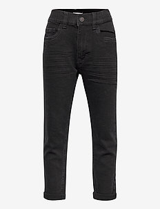 Trousers denim loose tapered D - jeans - black