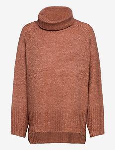 Sweater Erika - rollkragenpullover - coral