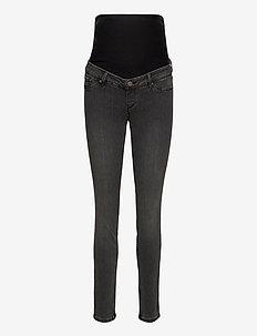 Trousers denim  MOM Clara blac - mom jeans - black