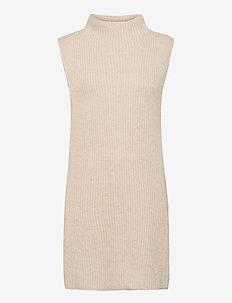 Vest knitted Emery - kamizelki z dzianiny - beige
