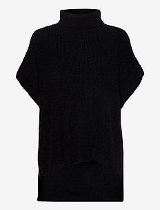 Poncho Miranda - ponchos & capes - black