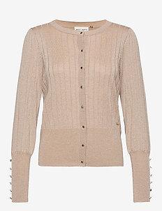 Cardigan Stine - swetry rozpinane - beige