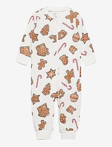 Pyjamas Saffron buns   Ginger - one-sie - beige