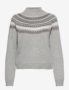 Sweater Tanja - christmas sweaters - grey
