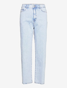 Trousers denim Hanna lt blue - mom jeans - blue