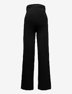 Night Trousers Mom Lisa - broeken - black