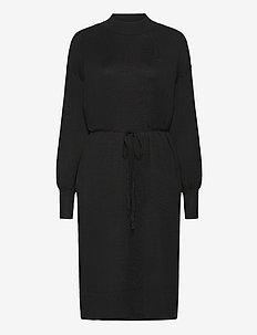 Dress Mimmie knit - sukienki dzianinowe - black
