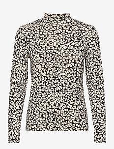 Top Kenny rollerneck - long sleeved blouses - black