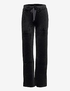 Trouser Miranda velour - casual trousers - black