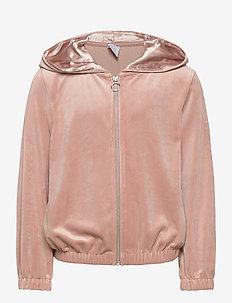 Sweater hoodie Sabina - hoodies - pink