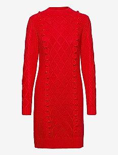 Dress Cami - strikkede kjoler - red