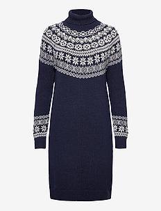 Dress Feluca - strikkede kjoler - blue