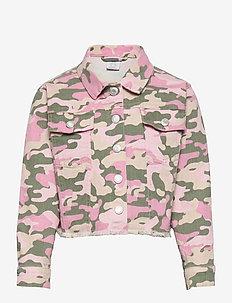 Jacket twill Nasha - jeansjacken - pink