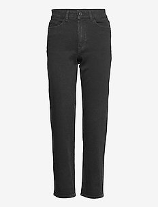 Denim trousers Nea black - mom jeans - black