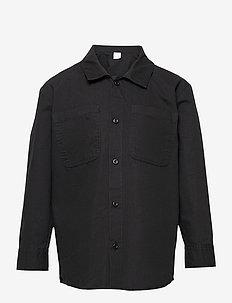 Shirt overshirt worker - shirts - black