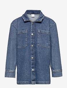 Shirt overshirt denim - jeansjacken - blue