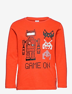 Top LS STREET Robot Space - långärmade t-shirts - orange