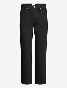 Trousers denim Betty black - straight jeans - black