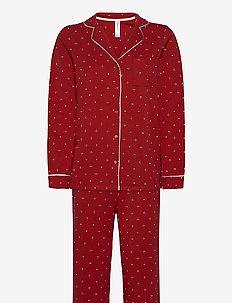 NW Pyjama Jessica - pyjama''s - red