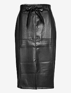 Skirt Nadia - midinederdele - black