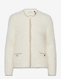 Indoor jacket Sanna - cardigans - white