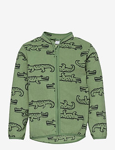 Fleece jacket uni - fleecetøj - green