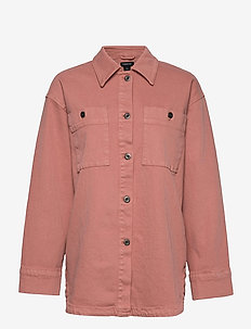 Jacket Frida - denim jackets - pink