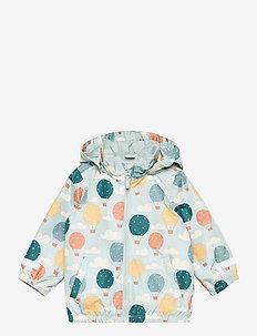 Jacket SN taslan - lette jakker - aqua