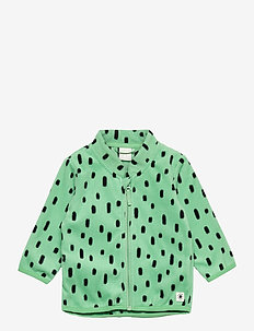 Jacket fleece - fleecetøj - green