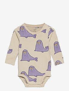 Body Walrus aop - long-sleeved - lilac