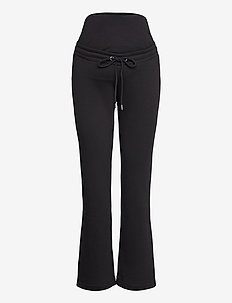 Trousers MOM Rose - spodnie - black