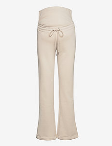 Trousers MOM Rose - spodnie - light beige