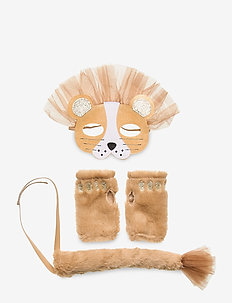 Dress up set lion - beige
