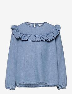 Blouse Viveca - chemisiers & tuniques - blue