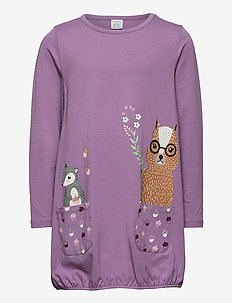 Top long playful pockets - blouses & tunieken - lilac