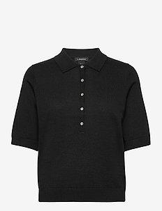 Poloshirt Ru - gebreide t-shirts - black
