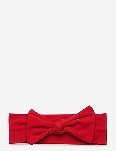 Headband red bow - haar accessoires - red