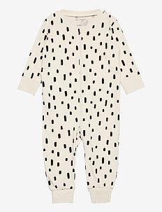 Pyjamas Koala at back - natdragter - beige