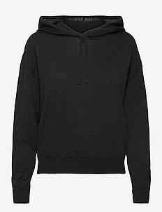 Sweater Angie - kapuzenpullover - black