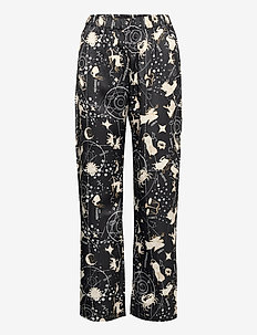 Night Trousers Woven Astro - bas - black