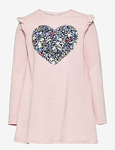 Top long ao print sweet patch - chemisiers & tuniques - pink