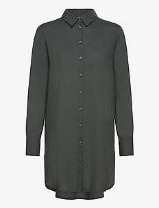 Blouse Helga - blouses med lange mouwen - green